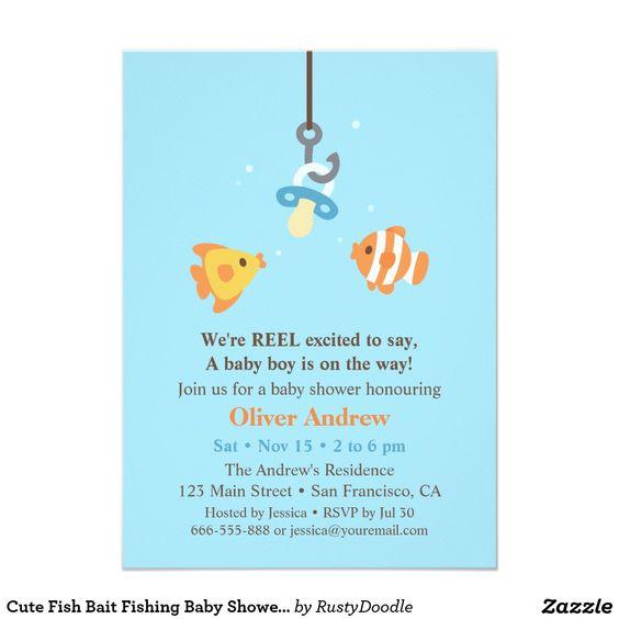 showers fishing shower invitations fishing baby showers baby shower