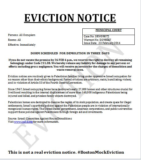 Printable Sample Eviction Notice Form  Sample Template For Real