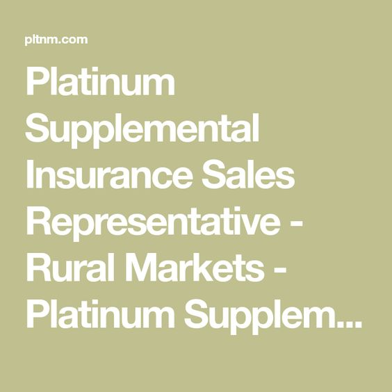 Sales Representative Rural Markets Insurance Sales Sales