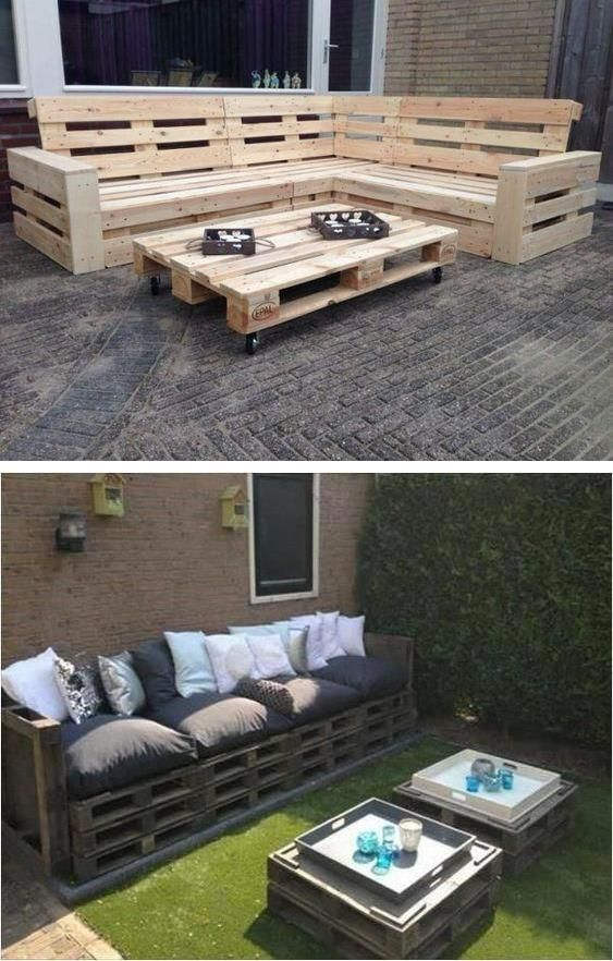 Garden Furniture Made Out Of Pallets Handmade Pallet Table How To Make A Sof Home Furnishings And Accessorie Pallet Furniture Furniture Pallet Table