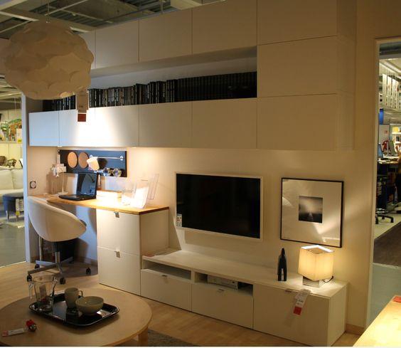 album 2 ikea r alisations en magasins autour de la t l gamme besta billy hemnes expedit. Black Bedroom Furniture Sets. Home Design Ideas