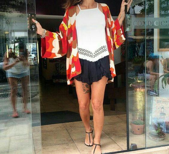 #look #kimono #rasteirinha