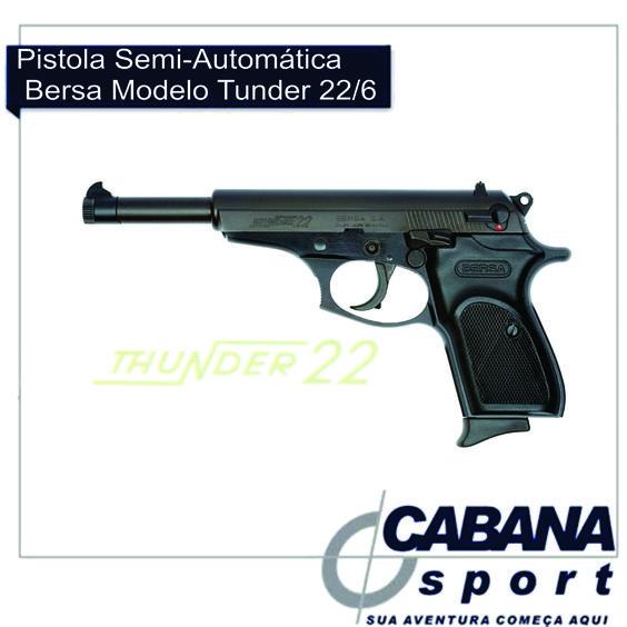 Após 10 anos ausente no Brasil a BERSA está de volta com sua linha de calibres permitidos, um pistola semi-automática com excelente qualidade e um preço justo para atender os mais criteriosos amantes do tiro esportivo. Confira em nosso site http://goo.gl/tvXERB