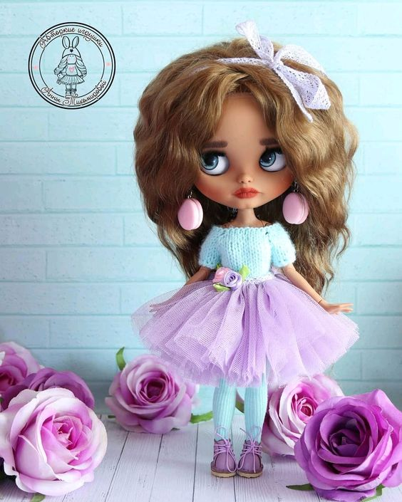 Купить Весенняя блайзочка - кукла, интерьерная кукла, ooak, ooak doll, blythe, блайз, кастом