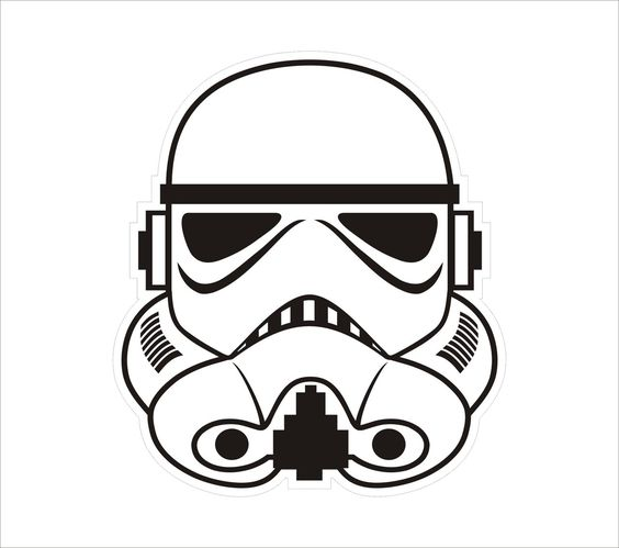 first order stormtrooper coloring pages - photo#32