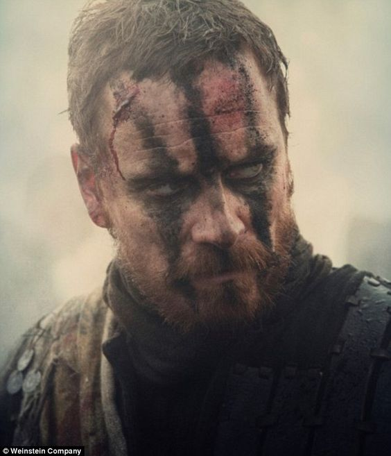 Fassbender's Macbeth (pictured) is strong, brave, charismatic, but also manifestly scarred...