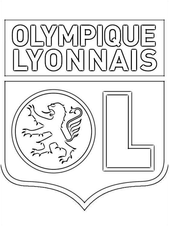 Coloriage Du Logo De Olympique Lyonnais Coloriageol0d Coloriage