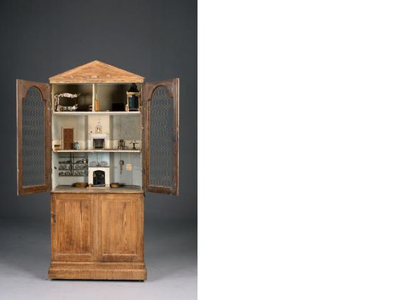 The wire cabinet, English Mid-Eighteenth century