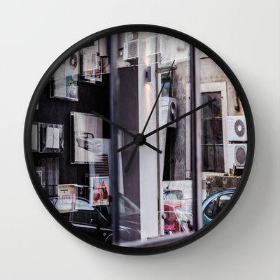 Reflet Wall Clock by Sébastien BOUVIER - $30.00