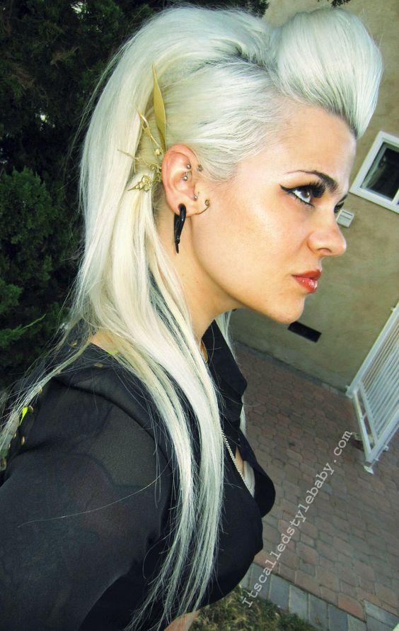 Massive Rock Hair 80 S Punk Rock Glam Rock Sleeve Rock
