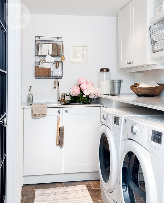 Small Space: Basement Laundry Room
