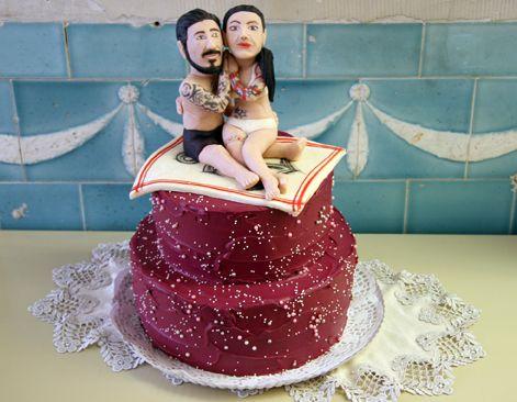 Hochzeitstorten können auch anders...