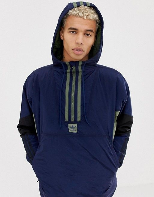 adidas vocal fleece half-zip jacket