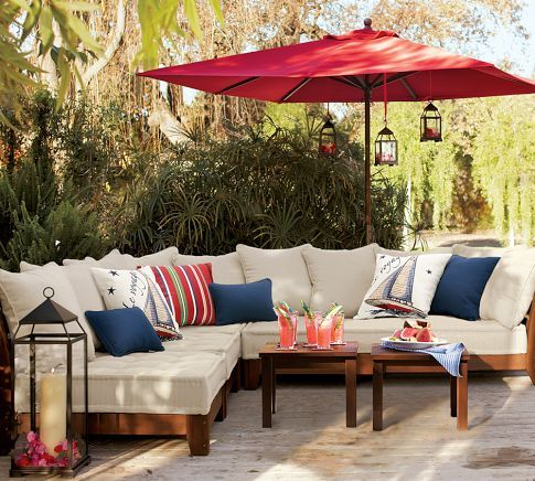 Chesapeake All-Weather Sectional  from Pottery Barn
