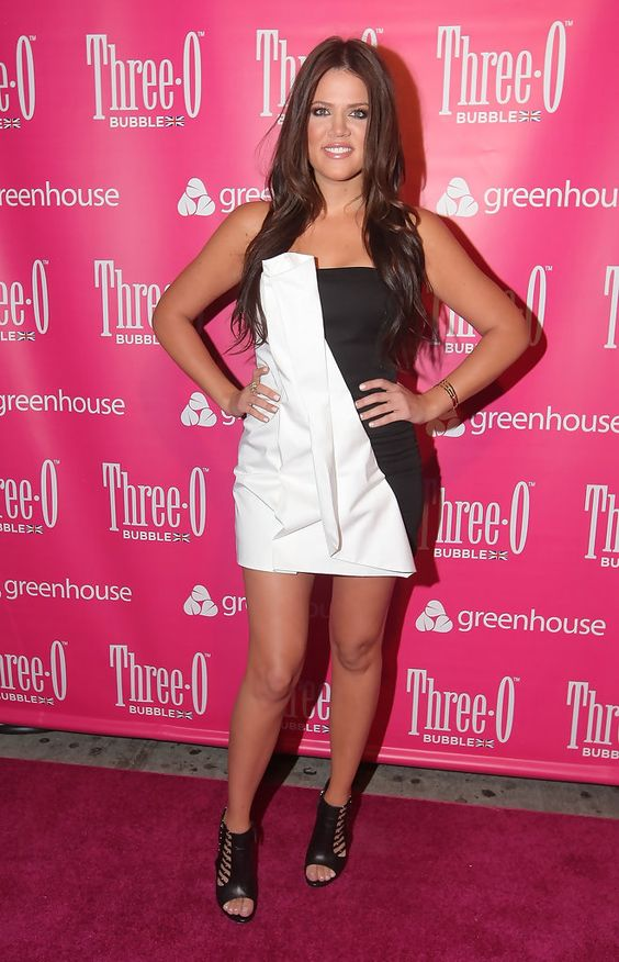 TV personality Chloe Kardashian attends the Three-O Vodka Bubble launch at Greenhouse on July 9, 2009 in New York City.