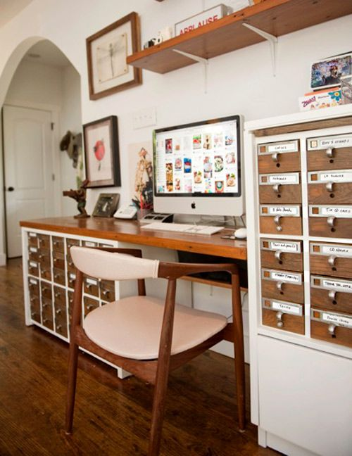 Card Catalog Before + After {{love}}