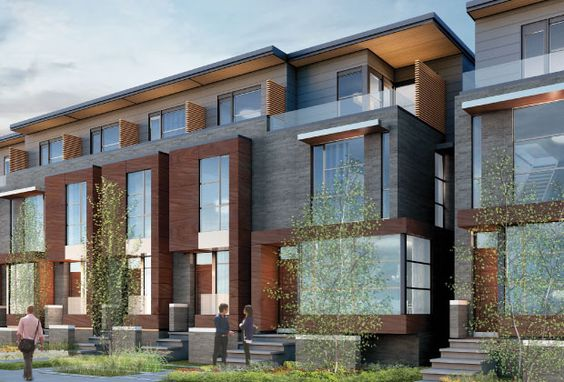 Modern townhouse exterior inspiring architecture for Townhouse exterior