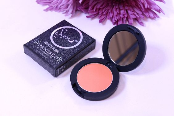 Night Life by Camila Coelho collection sigma beauty 7 hot spot blush