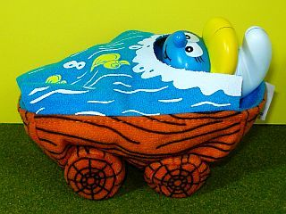 Smurfette in hmm, a Car...maybe a Boat...could be a Bed Made for McDonald's Corp. 2002
