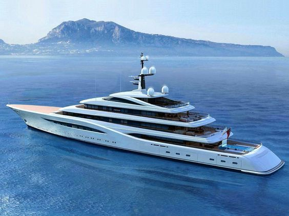 Luna Yacht Yachts Pinterest Private Jets - Giga yacht takes luxury oil tanker sized extreme
