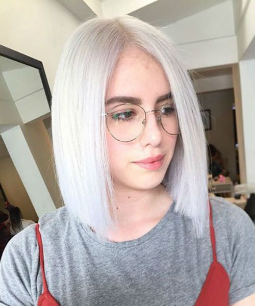 Top 15 Extraordinary Icy Blonde Bob Haircuts And Hairstyles 2020 For Women To Look Perfect Hair And Comb Bobs Haircuts Bob Hairstyles Blunt Bob Haircuts