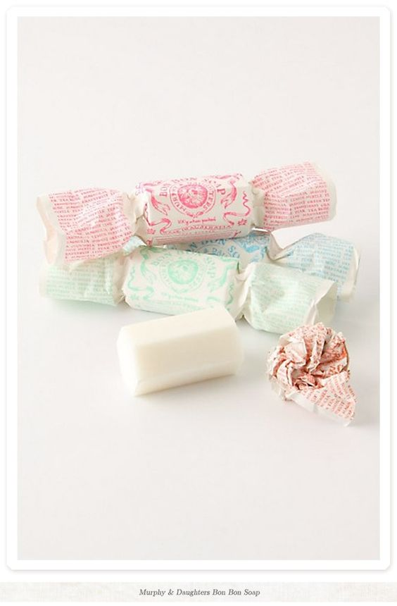 soap in candy packaging