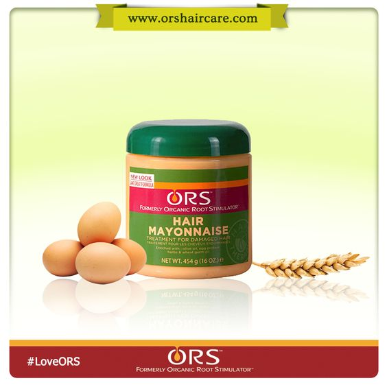 ORS Hair Mayonnaise Intensive conditioning treatment of whole egg ...