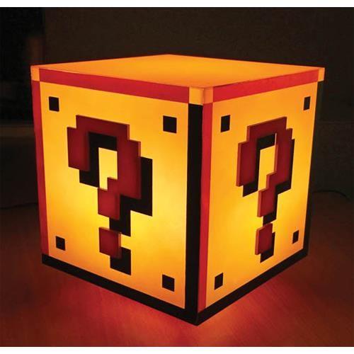 Nintendo Super Mario Bros Question Block Light Super Mario This