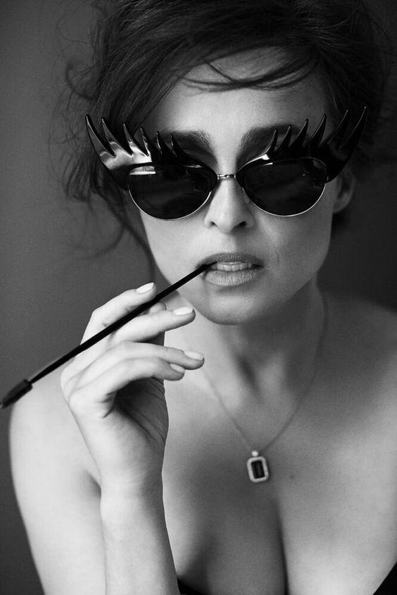 Хелена Бонэм Картер сфотографировала Джонти Дэвис Для Red, 2015.