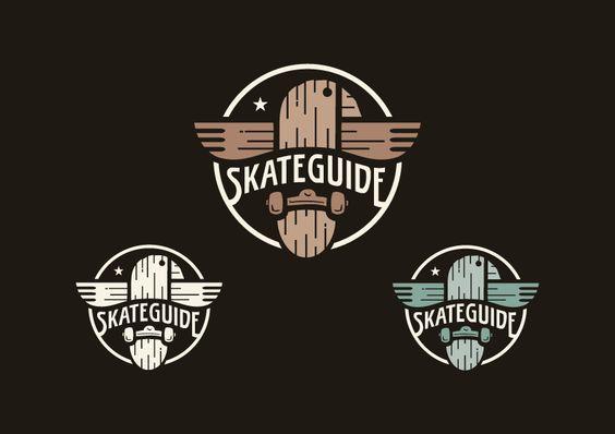 SkateGuide - Logo Entwürfe