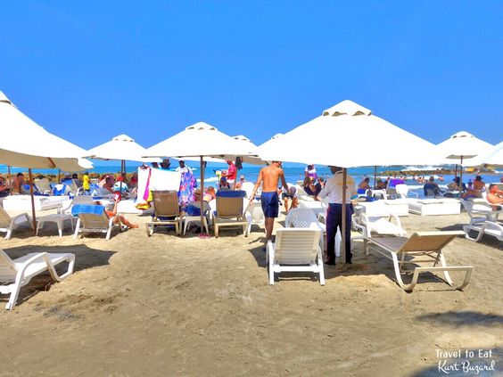 Bocagrande Beach. Cartagena de Indias, Colombia