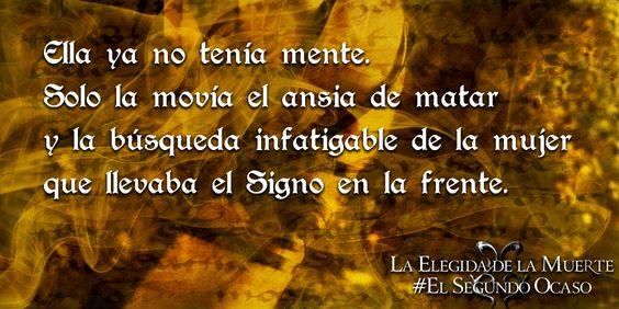 "De ""La Elegida de la Muerte"" (El Segundo Ocaso I) http://www.amazon.es/elegida-muerte-Virginia-Perez-Puente-ebook/dp/B00P7WQ0MS/ref=sr_1_2?s=books&ie=UTF8&qid=1444253626&sr=1-2"