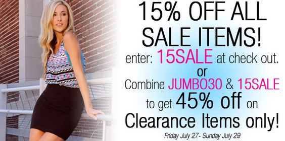 Sale on a Sale, in a Sale on Clearance…Sale. Inception Sale ★