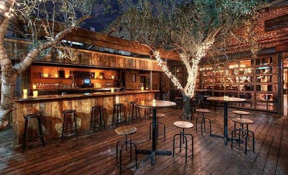 The Best Bars For Outdoor Drinking in L.A.    The sights and sounds of a big city like Los Angeles can be overwhelming to say the least. After a long day of braving the traffic and listening to countless aspiring screenwriters pitch you their recent scripts, you might want to throw back a drink or three in the open air. Here are some of the best outdoor oasis in the city where you can do just that.