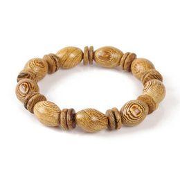 Millettia Laurentii  Treasure Beads Bracelet 9pcs
