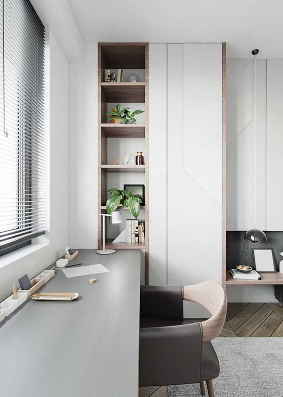 Os móveis de MDF são uma ótima alternativa para quem deseja apostar nos tons de madeira