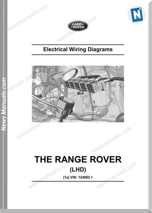 Land Rover Range Rover 2014 L405 Wiring Diagram Range Rover Range Rover 2014 Land Rover