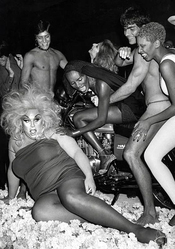 Divine, Grace Jones, Happy Times worldofwonder.net