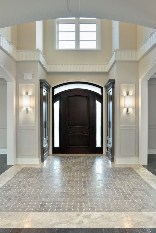 When To Paint The Inside Of Your Front Door Front Doors Doors   Foyer Tile  Design
