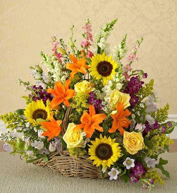 Pink Spring Floral Arrangement by Virginia Wolff | Large ... |Large Spring Floral Arrangements
