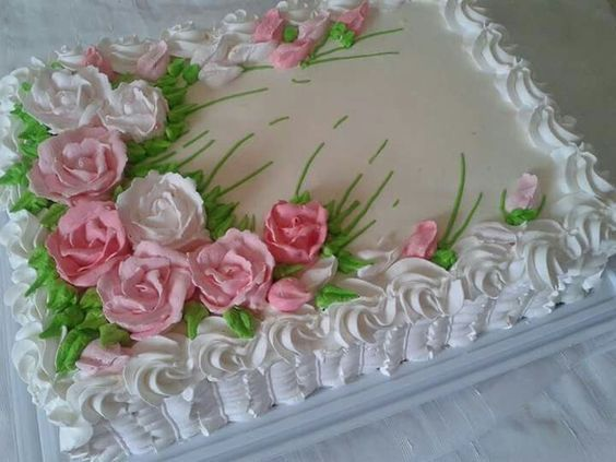 Bolos Simples Decorados Para Festas De Aniversario E Casamento