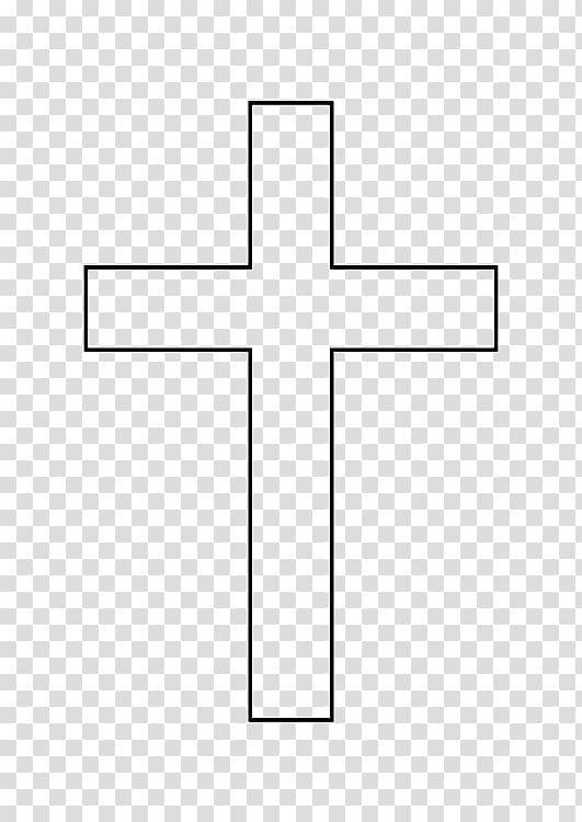Cross Outline Png Cross Drawing Cross Vector Stain Glass Cross