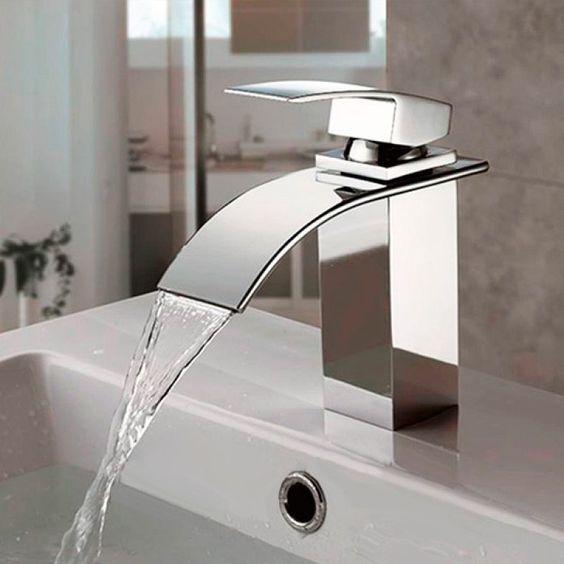 Compre Misturador Monocomando Torneira Cascata Banheiro Lavabo K