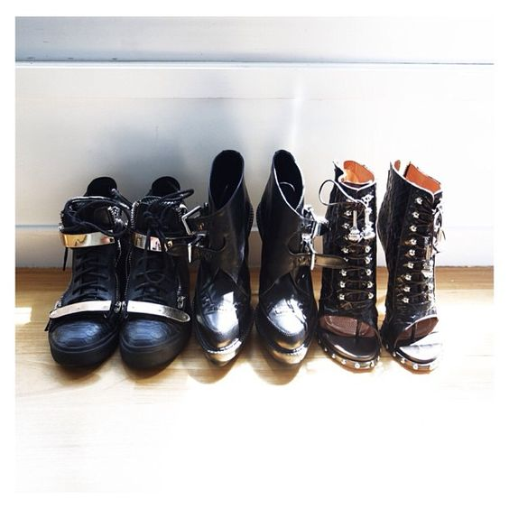 And so the packing begins.. #zanotti #phi #givenchy #Padgram