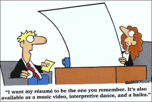 Your resume should stand out, but be careful not to make it - make my resume stand out