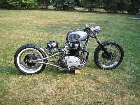 drop seat bobber | Xs 650 drop seat - Motorcycle Pictures ...