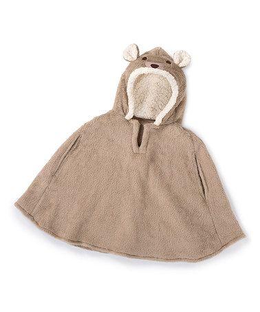Look at this #zulilyfind! Brown Bear Car Seat Coat by Summer Infant #zulilyfinds