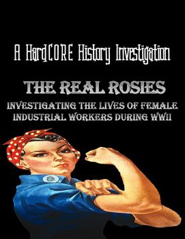 """What was it actually like being a female industrial worker during WWII? The Rosie the Riveter poster is an iconic representation of the vigorous work and selfless sacrifice females contributed to the American war effort. But what do we actually know about the millions of women who labored in wartime factories and shipyards? With this historical investigation, students will come to appreciate the sweat, struggles, and successes of the """"Real Rosies."""""""