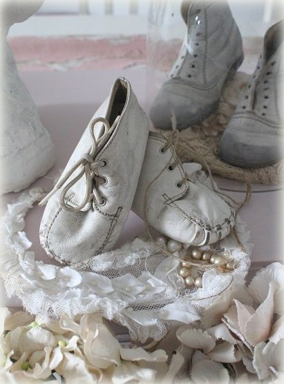Old French Children's Shoes.