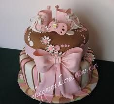baby girl shower cakes - Google Search